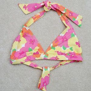 Lily Pulitzer floral bikini top